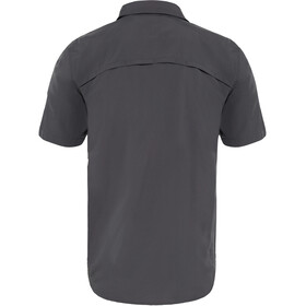 The North Face Sequoia S/S Shirt Men asphalt grey/mid grey